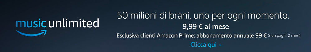 Abbonamento Amazon Music Unlimited