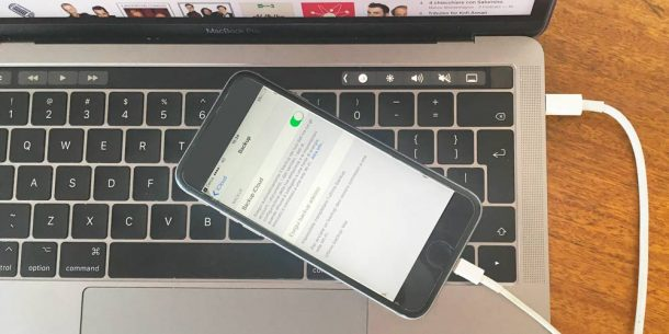 Come fare backup iPhone