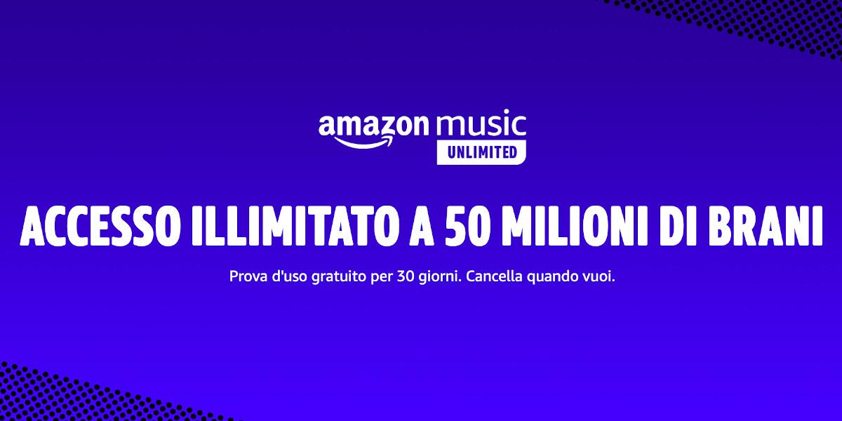 Amazon Music Unlimited come funziona