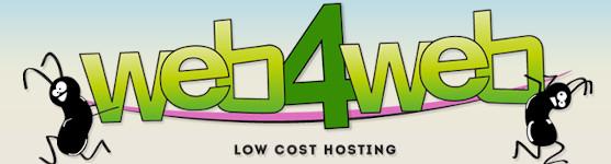 web4web hosting low cost