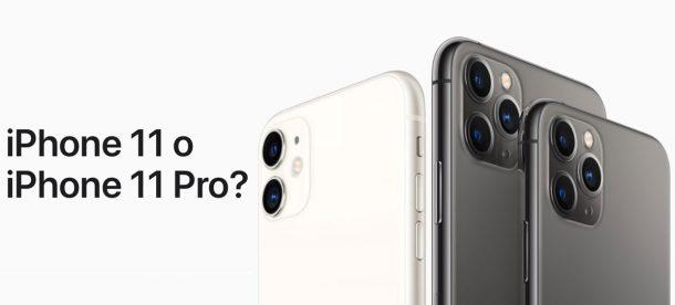 iphone 11 o 11 pro