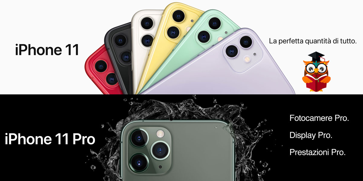 Apple iPhone 11 e 11 Pro