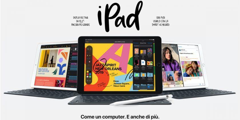 Nuovo iPad 7 Gen 2019