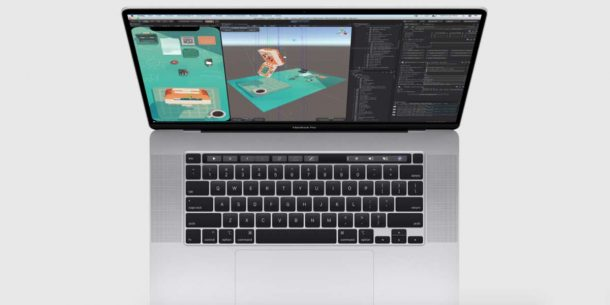 Workstation Apple MacBook Pro 16