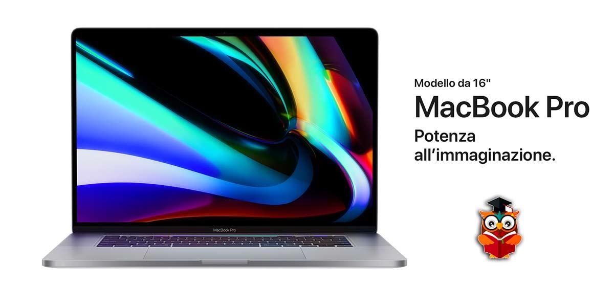 Nuovo Apple MacBook Pro 16 pollici