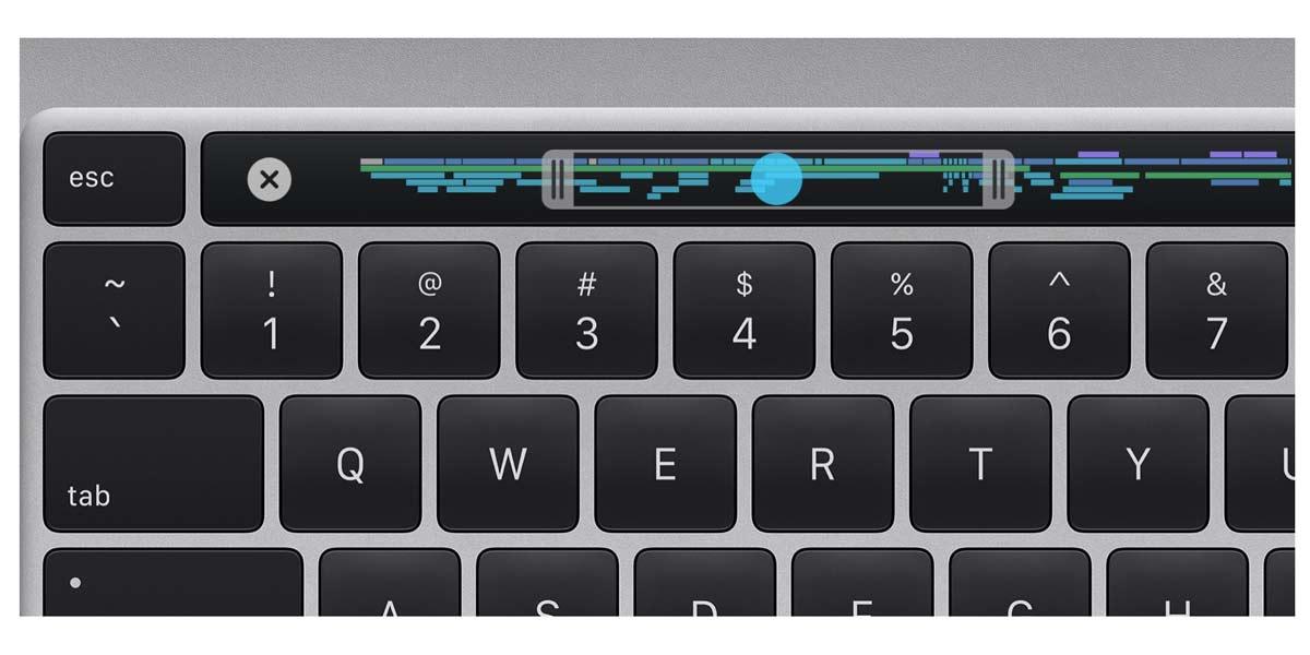 Tastiera MacBook Pro 16 con Esc