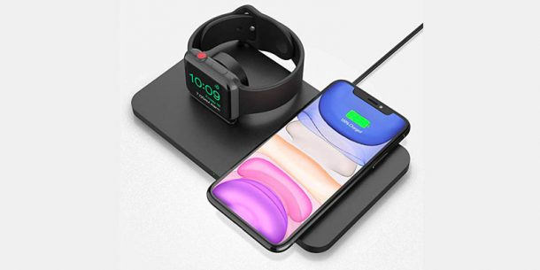 Doppio Caricatore Seneo iPhone Apple Watch e Airpods