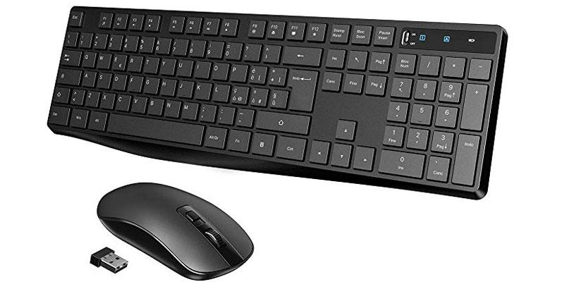 tastiera e mouse wifi Viktsing