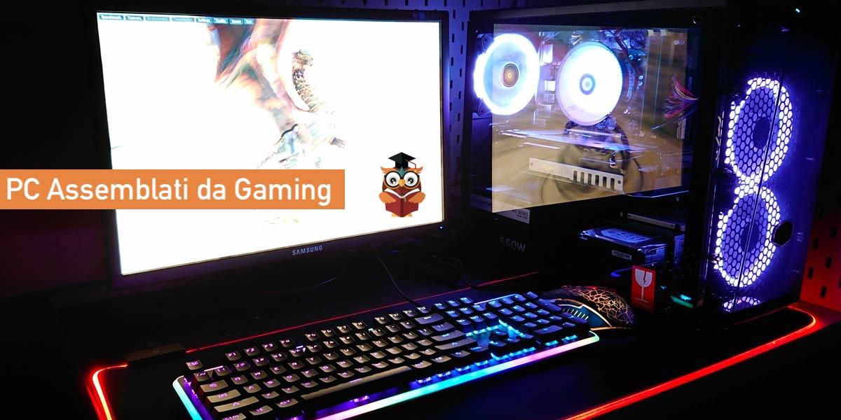PC assemblati da gaming