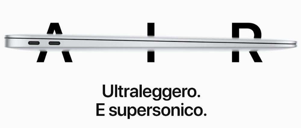 Prestazioni MacBook Air 2020
