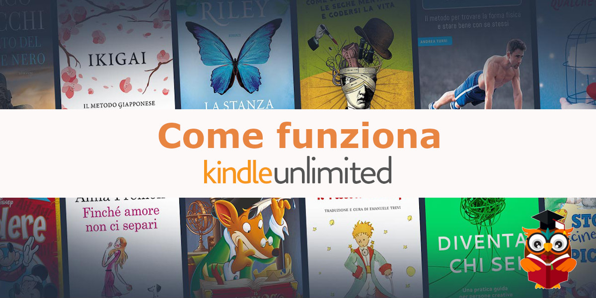 come funziona amazon kindle unlimited