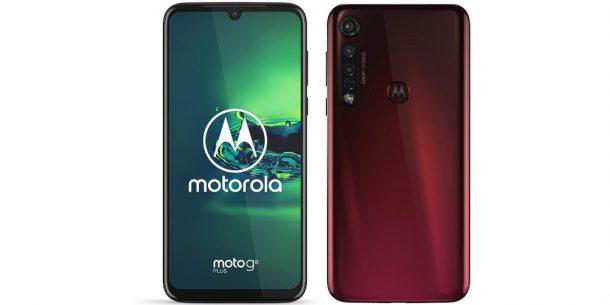 Motorola G8 Plus Red