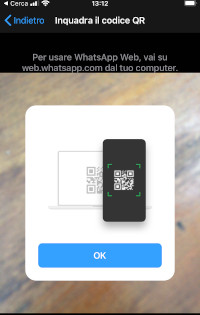 Connettere WhatsApp Desktop
