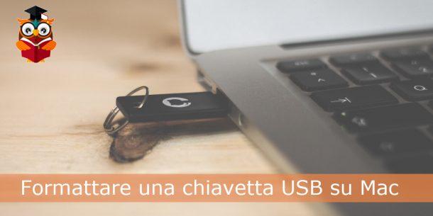 Formattare chiavetta USB Mac