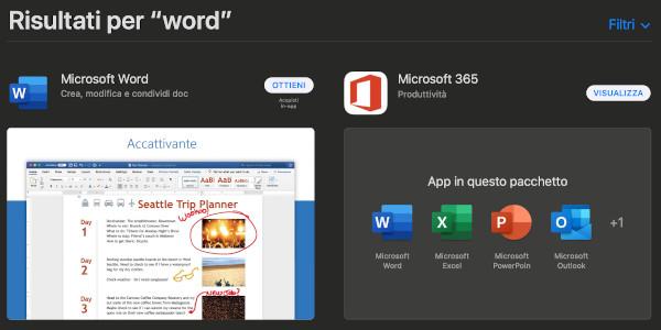Come scaricare Word gratis per Mac