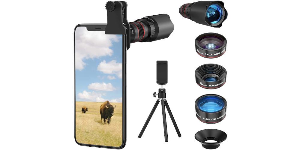 Selvim - kit obiettivi smartphone