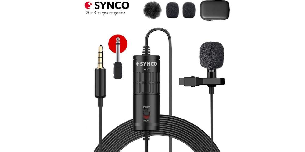 Synco lav s6 microfono