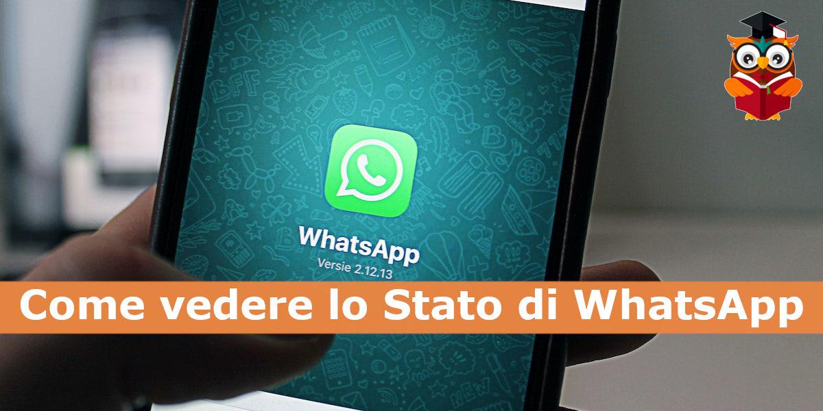 Come si può vedere lo stato di WhatsApp degli altri