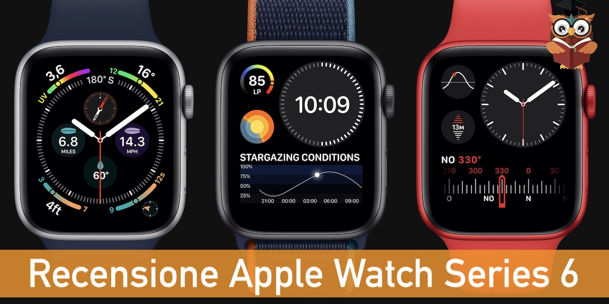 recensione apple watch series 6