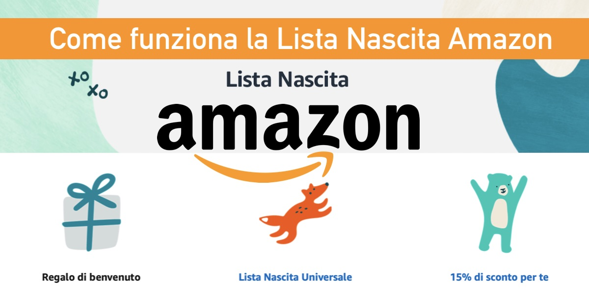 come funziona lista nascita amazon