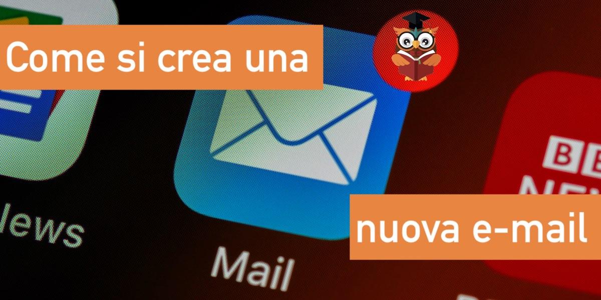come si crea una nuova email