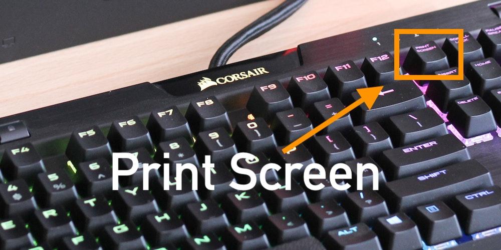 print screen tastiera